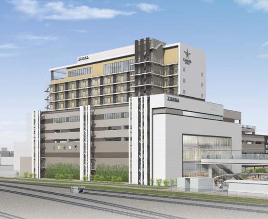 刻々と進むJR岸辺駅ビル開発プロジェクト